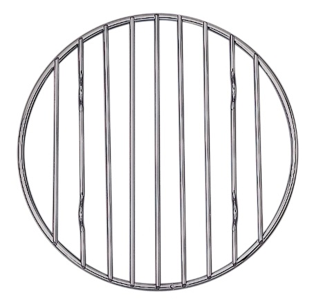 6″ Round Chrome Cooling Rack
