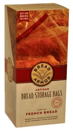 Artisan French Bread Storage Bags Set of 2
