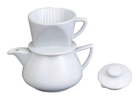 Manual Ceramic 2 Cup Coffee Maker
