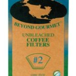 Unbleached #2 Cone Style Coffee Filters 100ct