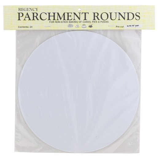 10″ Cakepan Parchment Rounds Pack of 24