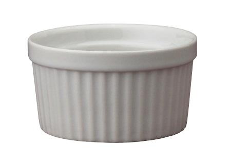 4 oz White Ceramic Ramekin