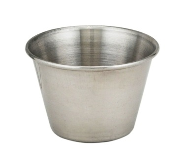 Individual Stainless Sauce Cup, 2.5 oz