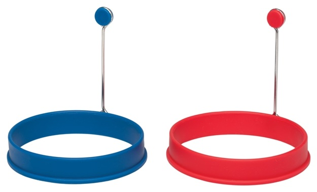 Set of Two Silicone Egg Rings