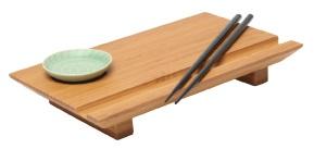 Bamboo Sushi Board Set