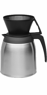 Stainless Drip Manual Thermal 10 Cup Coffee Pot