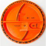 Construction Site Plastic Child's Plate