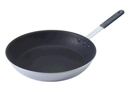12″ Commercial Weight Aluminum Nonstick Omelet Pan