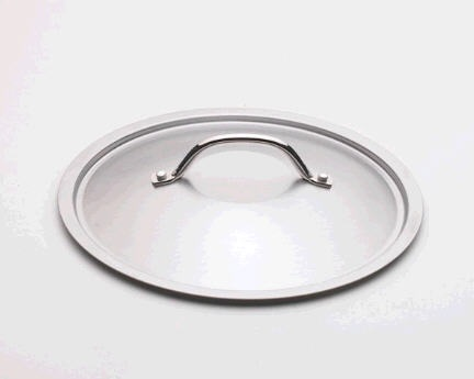 10″ Brushed Stainless Steel Lid