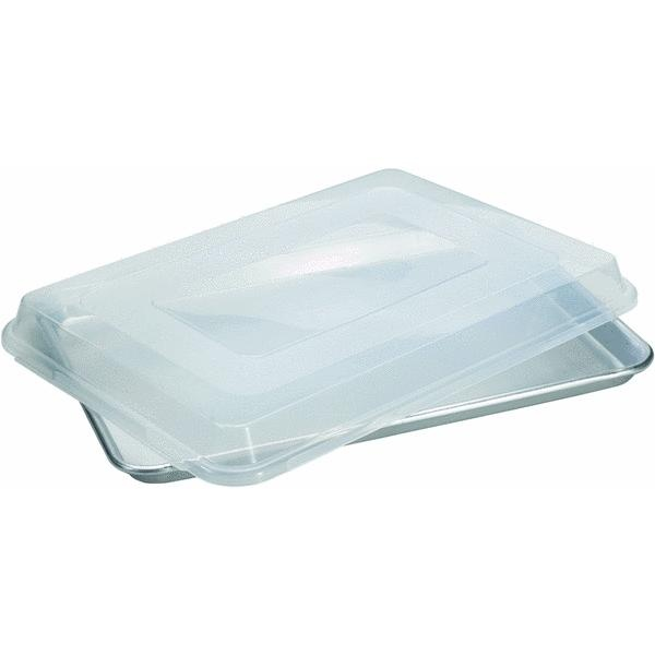 13″ x 18″ Aluminum Jellyroll Pan with Lid
