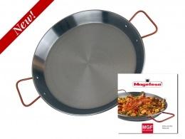 17″ Spanish Carbon Steel Paella Pan