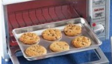 Small 6.5 x 9.25 Aluminum Toaster Oven Cookie Sheet