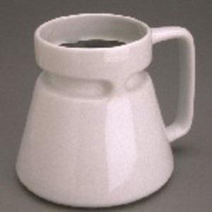 Ceramic Travel Mug White