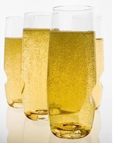8 oz Shatterproof Champagne Glass Set of 4