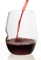 12 oz Plastic Shatterproof Wine Glass S/4