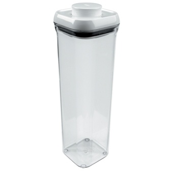 2.1 Quart Oxo Tall Pasta Pop Canister