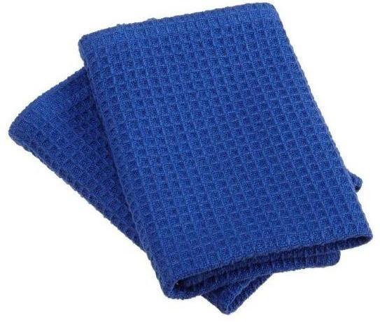 Royal Blue Waffle Weave Dishcloths Set of 2
