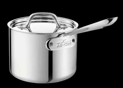 All-Clad Stainless 1 Quart Saucepan