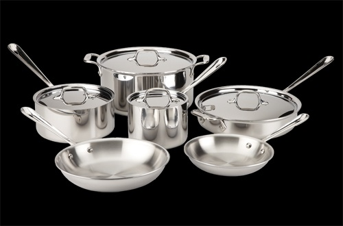 All-Clad Stainless Steel 10 Piece Set