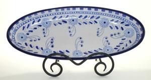 16″ Azoura Tunisian Oval Platter