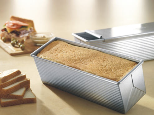 13″ x 4″ Pullman Loaf Pan
