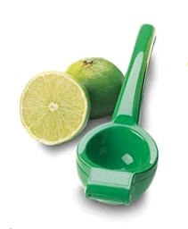 Enameled Green Lime Squeezer