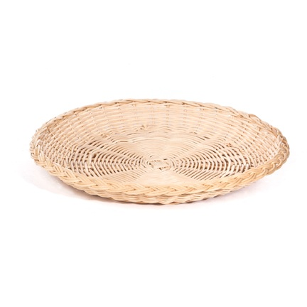 High Quality Rattan Paper Plate Holder – Single
