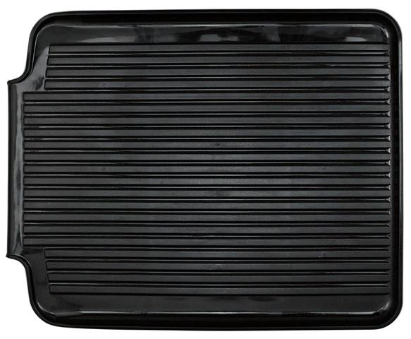 Black Plastic Drain Mat