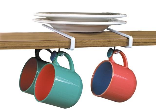 Under Shelf Mug Hooks Set/2
