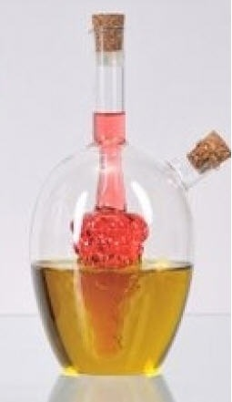 22 oz Glass Oil & Vinegar Cruet