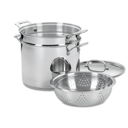 Cuisinart 12 Quart Pasta & Steamer Stockpot