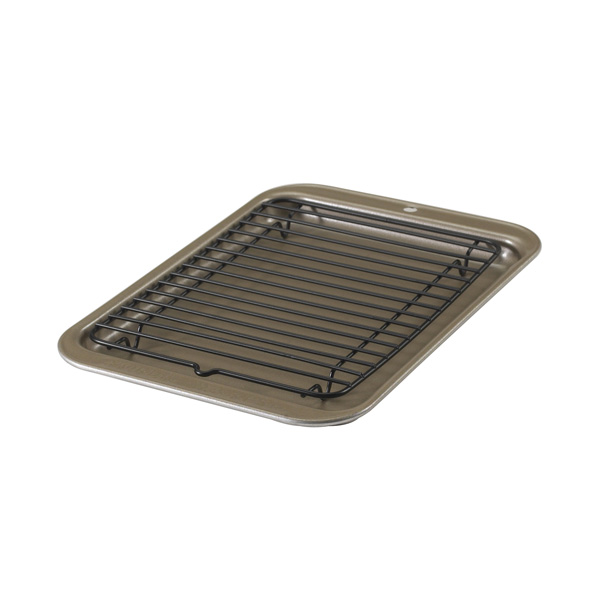 10″ x 7″ Nonstick Small Broiler with Rack