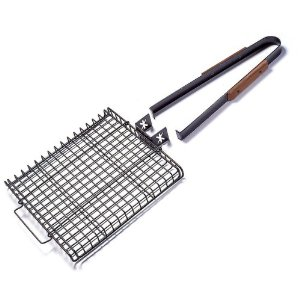 Rectangular Grill Basket with Removeable Handle
