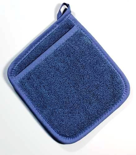 Federal Blue Terry Potholder with Pocket