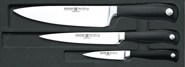 Wusthof Grand Prix II 3-Piece Knife Set