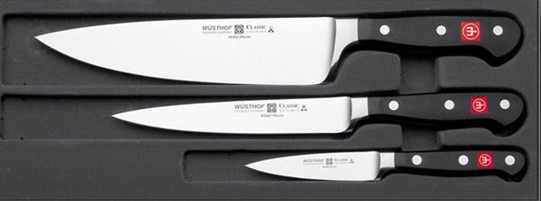 Wusthof Classic 3-Piece Knife Set