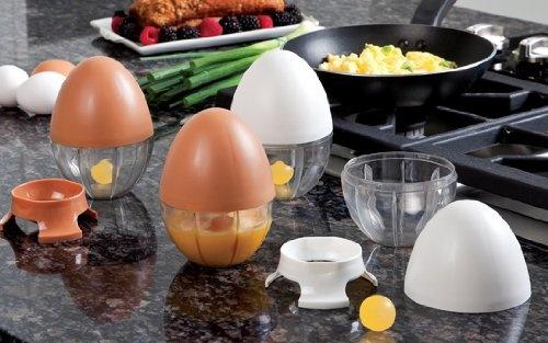 Egg Scrambler with Removable Egg Separator