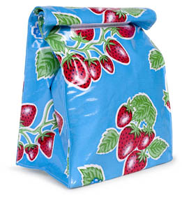 Mexican Oilcloth Lunch Bag