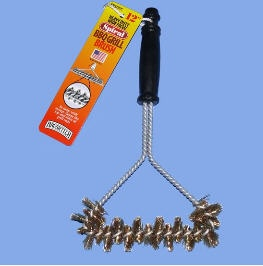 Wide Heavy Duty Grill Cleaning Brush