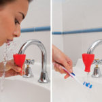 Tapi Rubber Squeeze Water Fountain