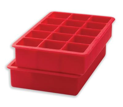 Perfect Square Ice Cube Trays – Red