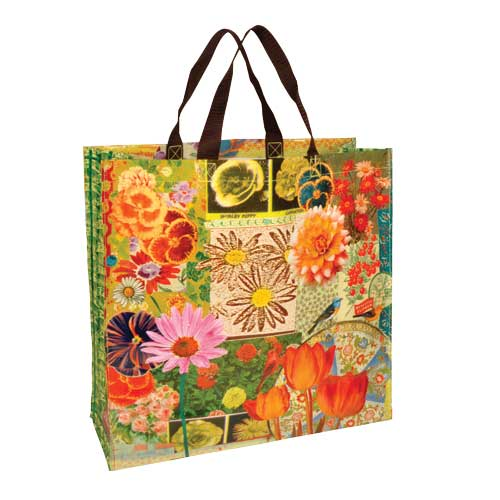 Flower Recycled Shopping Bag
