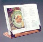 Deluxe Wood/Acrylic Front Hinge Cookbookholder