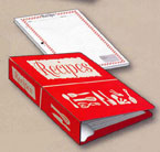 Red Binder Recipe Book