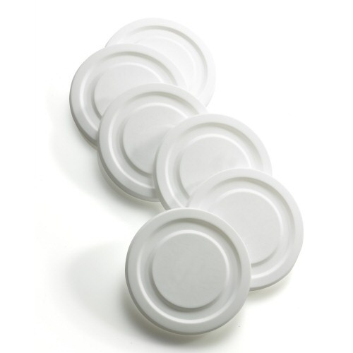 White Working Glass Lid