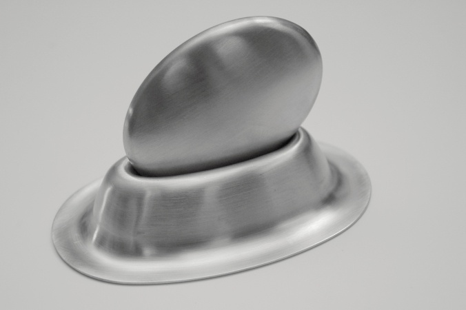 Stainless Steel Oval Onion Bar With Holder