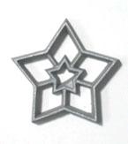 3″ Star Rosette Iron