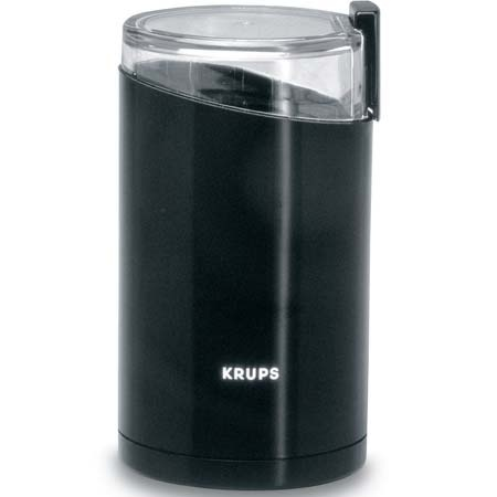 Krups Touchtop Coffee Grinder Black