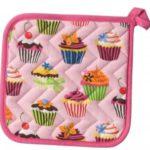 Sweet Tooth Potholder – Cupcake Pattern