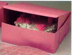12″ x 12″ x 5″ Pink Cake Box